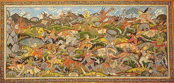 Devi Kills Munda and Chamunda (From The Devi Mahatmya)