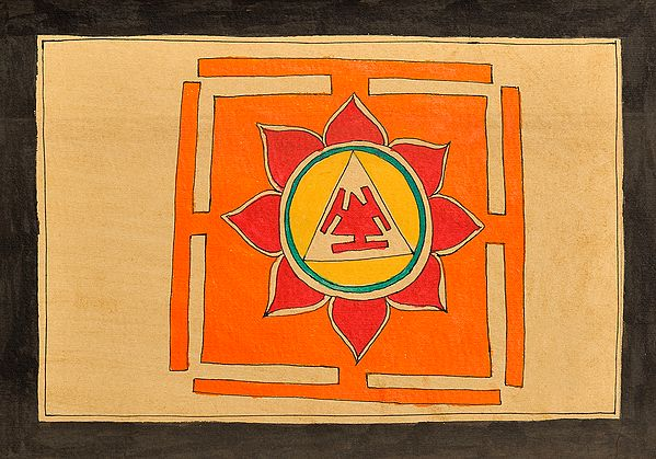 Yantra of Mahavidya Dhumavati