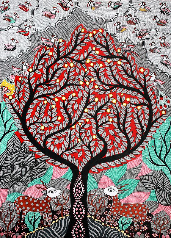 Tree of Life in The Jungle
