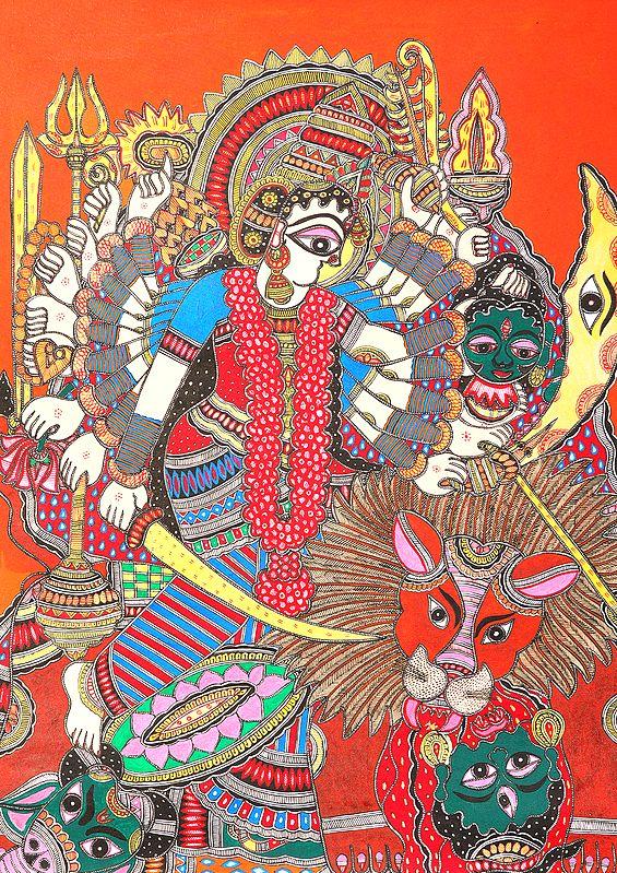 The Warrior Goddess  - Durga