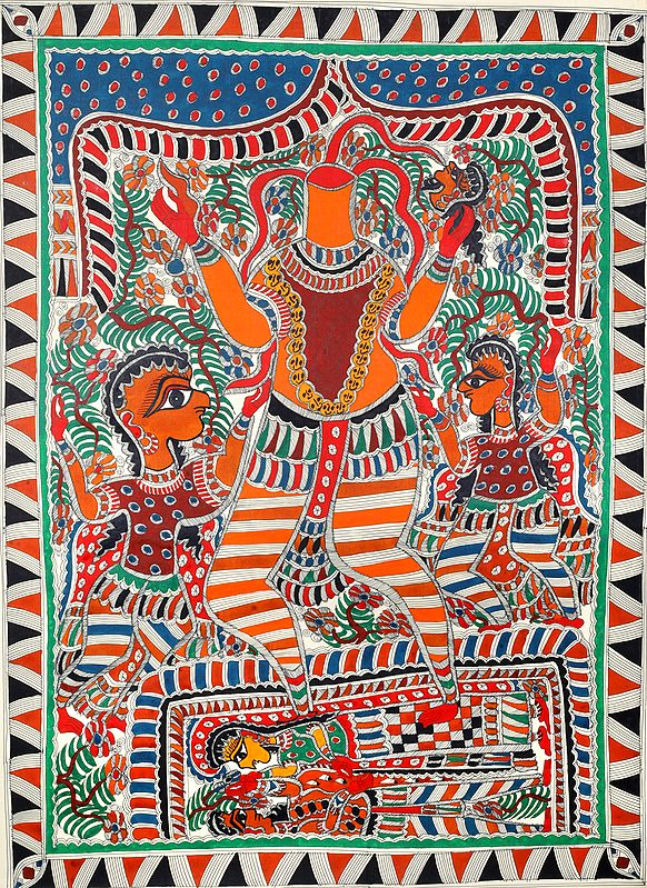 Chinnamasta The Goddess Who Cuts Off Her Own Head