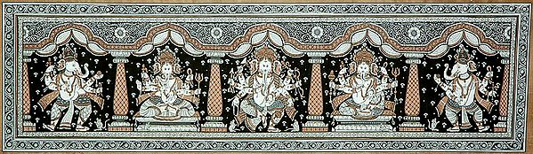 Five Forms of Ganesha