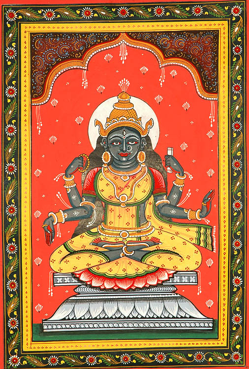 Goddess Bhairavi - The Fierce One (Ten Mahavidyas)