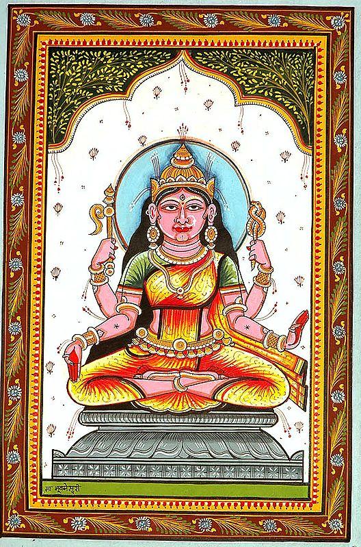 Goddess Bhuvaneshvari Shakti of the Manifested World (Ten Mahavidya Series)
