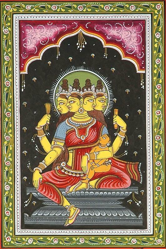 Goddess Brahmani (Shodash Matrikas)