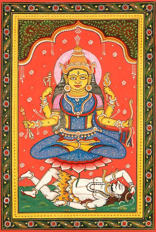 Goddess Shodashi (Ten Mahavidyas)