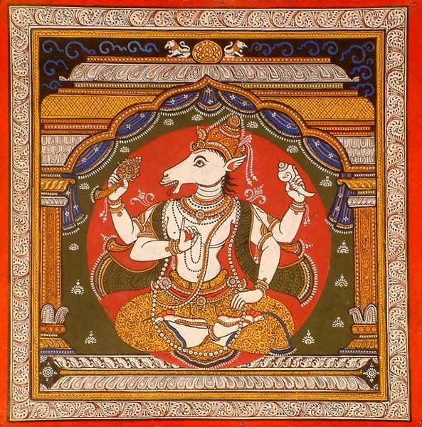 Hayagriva Avatar (Horse Incarnation) of Vishnu