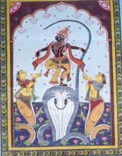 Krishna and Kaalia
