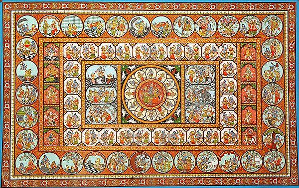 Rasa and 'Lilas' of Krishna