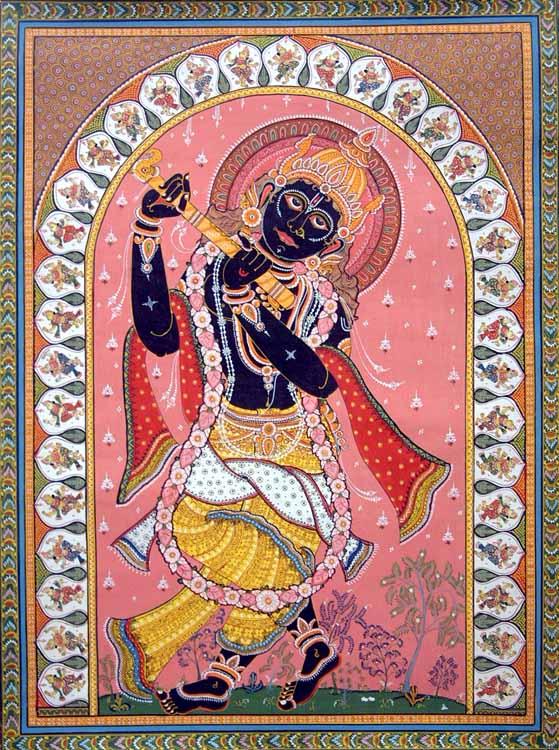 Krishna the Black God