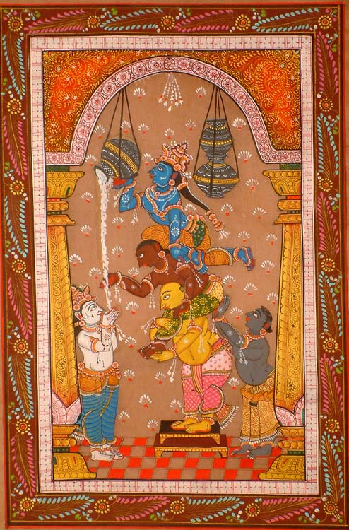 Krishna, The Butter Thief