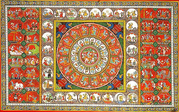 Krishna-Lila Episodes and Rasa