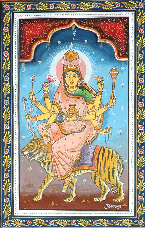 KUSHMANDA - Navadurga (The Nine Forms of Goddess Durga)