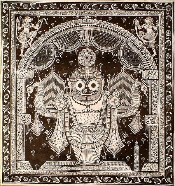 Lord Vishnu as Jagannath of Puri