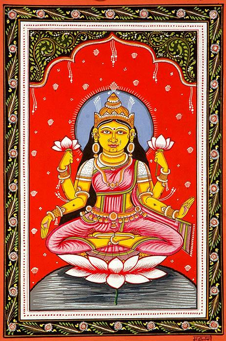 Mahalakshmi (Kamala) the Last but Not the Least (Ten Mahavidya Series)
