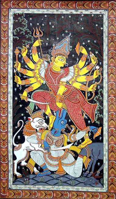 Mahishasura-Mardini Durga