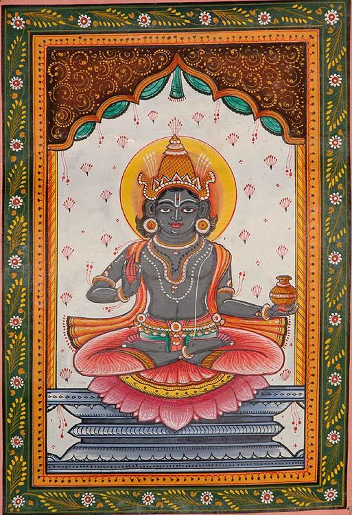 Navagraha (The Nine Planets) - Shani
