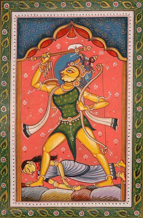 Parashurama Avatara (The Ten Incarnations of Lord Vishnu)