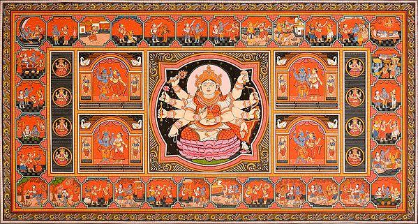 Life Story of Goddess Lakshmi