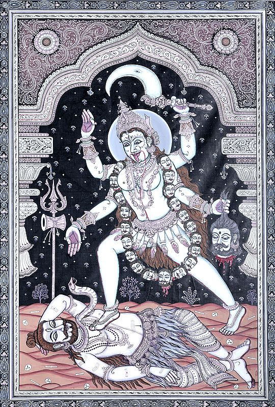 Realizing Her Mistake, Mother Kali Retraces Her Steps…..