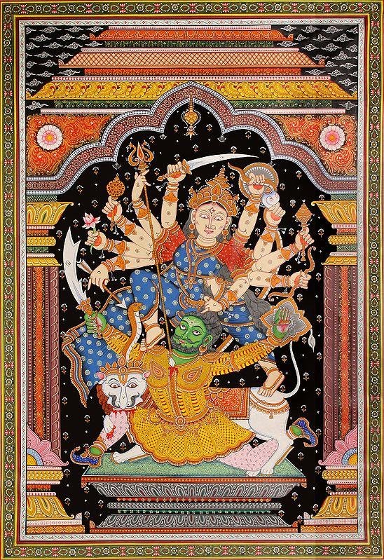 Durga Slayer of the Buffalo Demon
