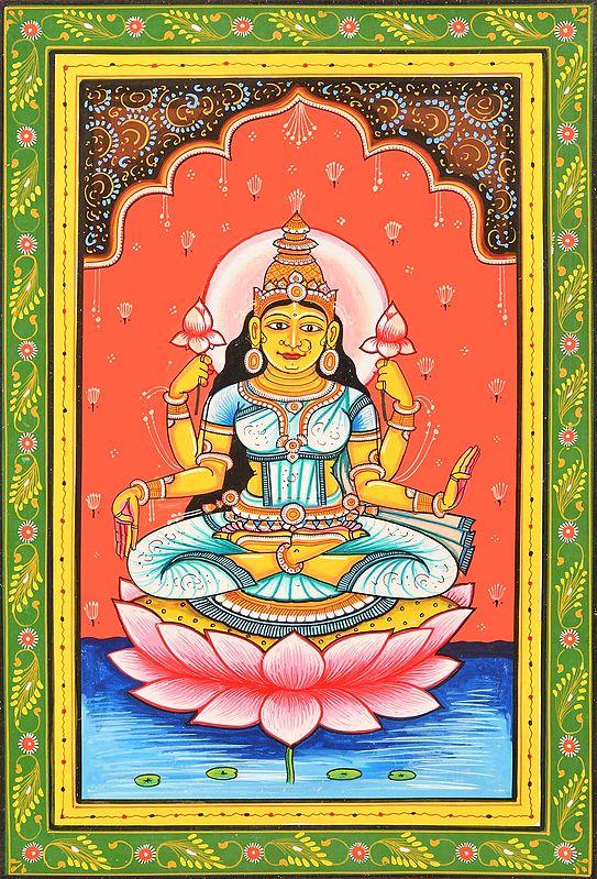 Goddess Mahalakshmi - Kamala (Ten Mahavidya Series)