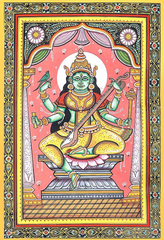 Matangi - The Outcaste Goddess (Ten Mahavidya Series)
