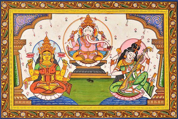 Three Auspicious Deities