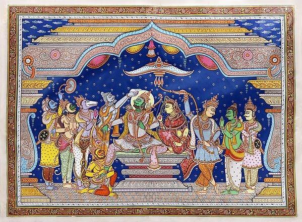 Coronation of Lord Rama