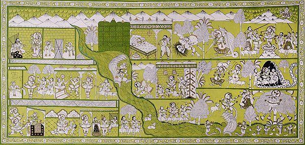 Krishna-Lila Phad
