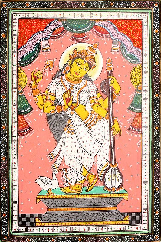 Vina-Vadini Devi Saraswati