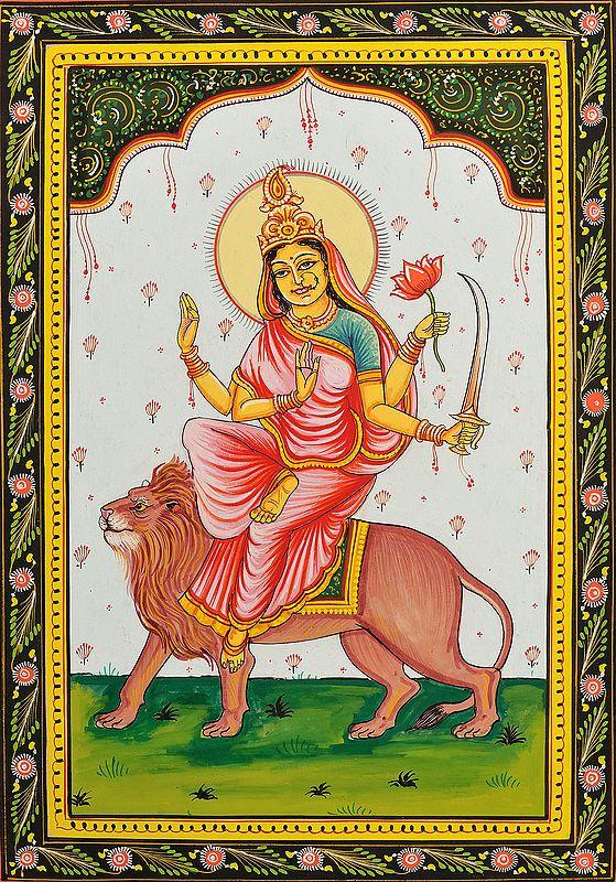 KATYAYANI - Navadurga (The Nine Forms of Goddess Durga)