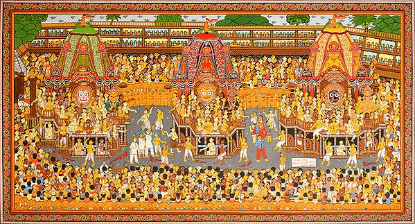 Jagannath Ratha Yatra, Puri