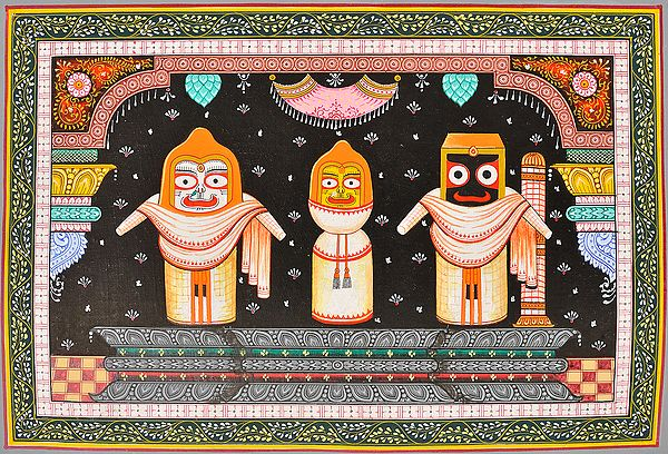 Shringara of Jagannatha-I