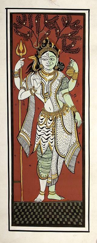 Shiva Parvati in Ardhanarishvara Form