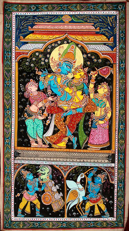 Dancing Radha Krishna with Gopikas and Krishna Lila Episodes