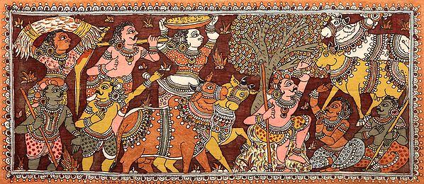 The Cowherd of Vrindavan