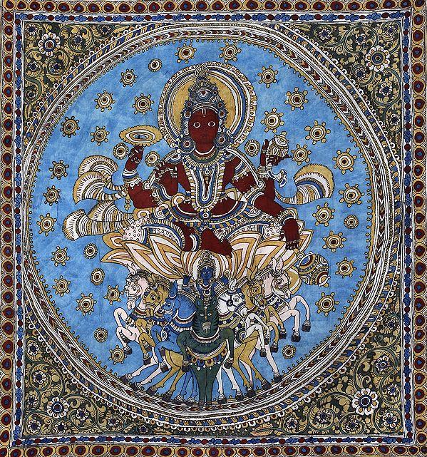 The Haloed Soorya-Devata