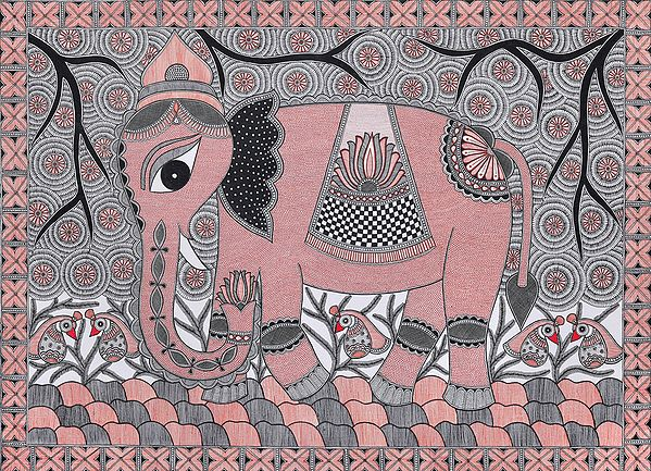 Auspicious Crowned Elephant