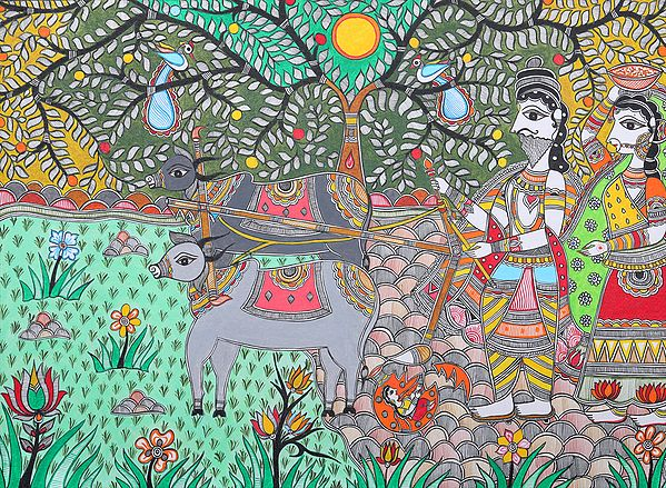 Sita the Daughter of Goddess Earth (An Episode from the Ramayana)