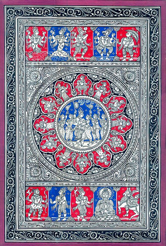 Lord Narayana Ten Incarnations (Vishnu Dashavatar)