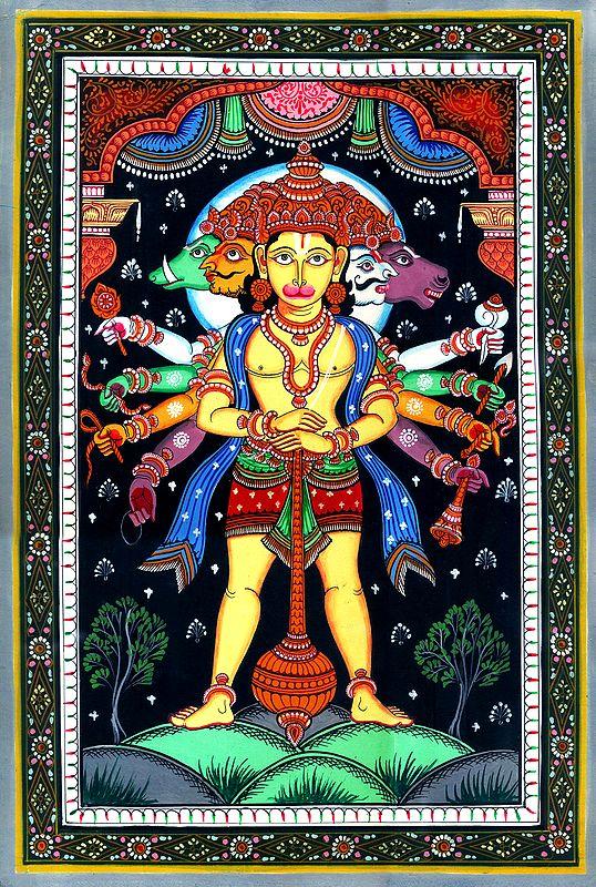 Panchamukha Dashabhujadhari Lord Hanuman