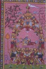 Raas Leela - Krishna with his Female Friends