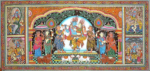 Radha Krishna and His Lilas