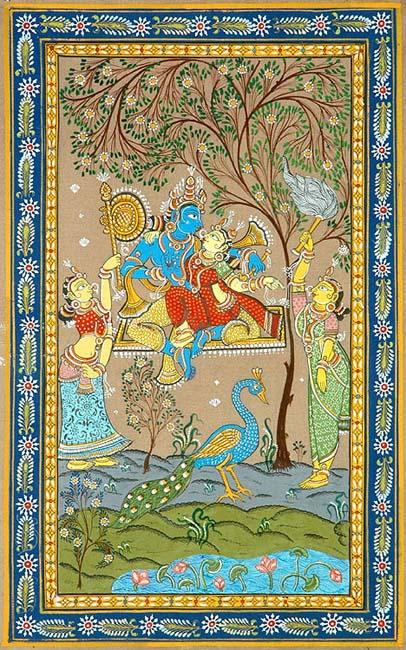 Seeking Each Other (Radha Krishna)