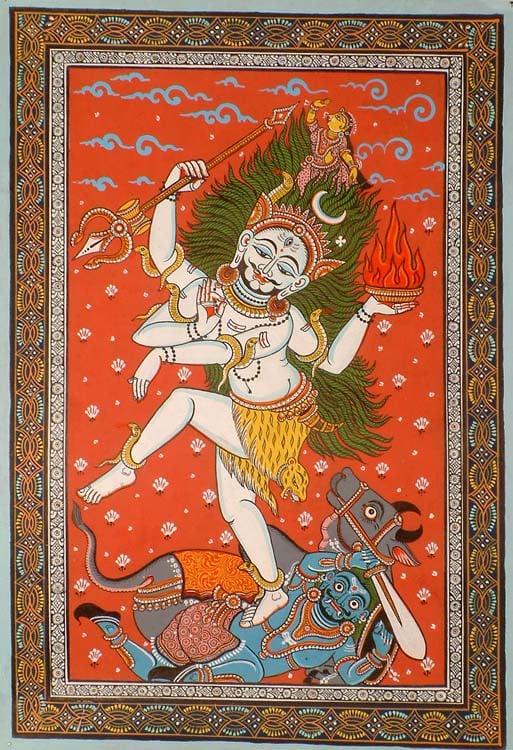 Shiva's Dance of Creation and Destruction