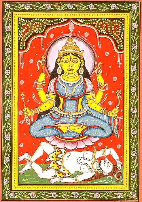 Mahavidya Shodashi as Tripura-Sundari