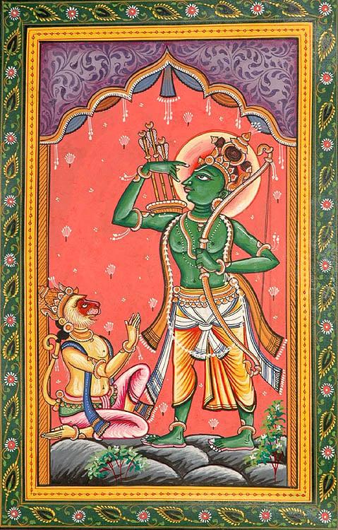Shri Rama Avatara (The Ten Incarnations of Lord Vishnu)