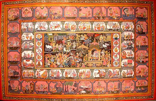 Story of Krishna's Life