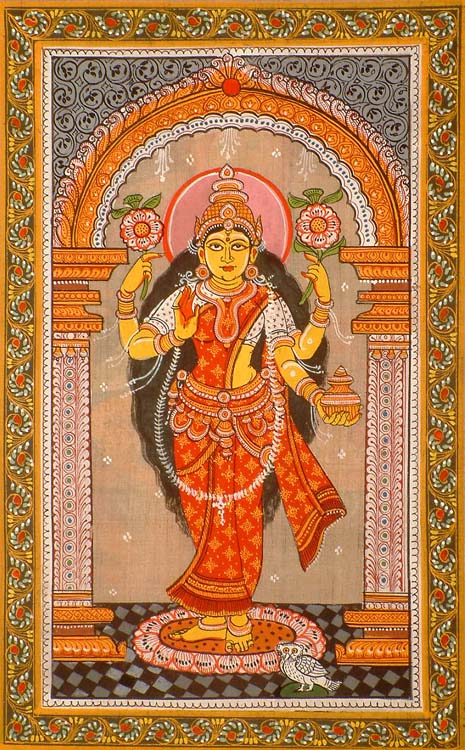 The Goddess of Good Fortune and Success